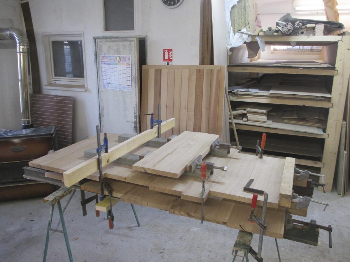 Fabrication-Volet